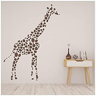 azutura Spot Giraffe Wall Sticker Safari Animals Wall Decal Kids Bedroom Home Decor available in 5 Sizes and 25 Colours X-Large Black
