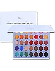 Maquillage de la palette de fard à paupières OYOTRIC - Matte + Shimmer 35 couleurs - Cosmétique des yeux hautement...