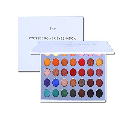 Maquillage de la palette de fard à paupières OYOTRIC - Matte + Shimmer 35 couleurs - Cosmétique des yeux hautement pigmenté
