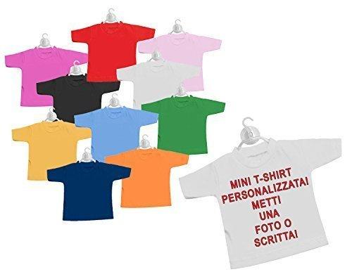Mini t-shirt bimbo a bordo per auto macchina stampa personalizzata nome foto logo disegno