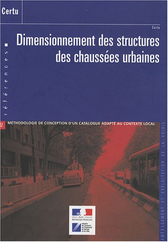 Dimensionnement des structures des chaussées urbaines