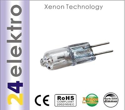10er Packung Halogen Energiesparlampe Energy Saver, 14W = 20W, G4, 12V, 3000h, 45% Xenon eingefuellt, dimmbar, B Klasse von unbekannt auf Lampenhans.de