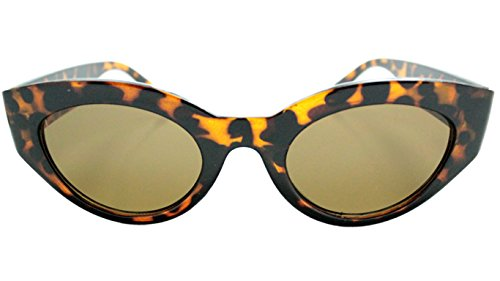 Spanic Gafas de Sol Pin Up Black (Leopardo) Mujer