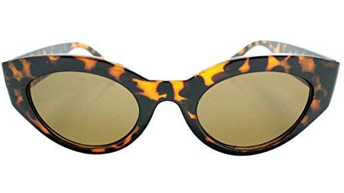 Spanic Gafas de Sol Pin Up Black (Leopardo) Mujer