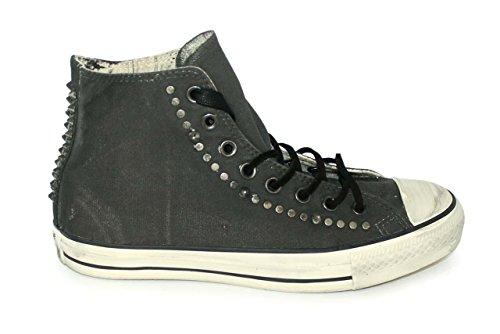 Converse dall'hardware John Varvatos Ct Hi verniciato Sneaker Black/White