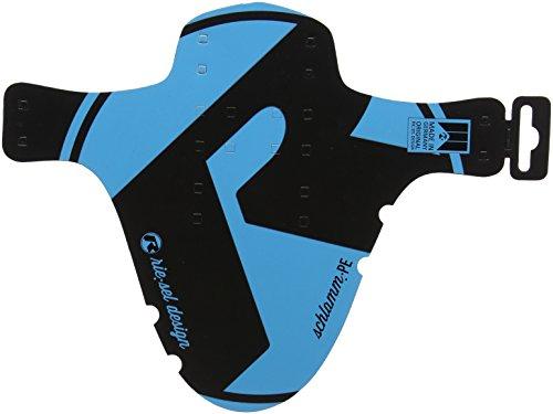 Riesel VTT arrière Fender Garde-boue, mixte, Mtb Rear Fender, bleu/gris