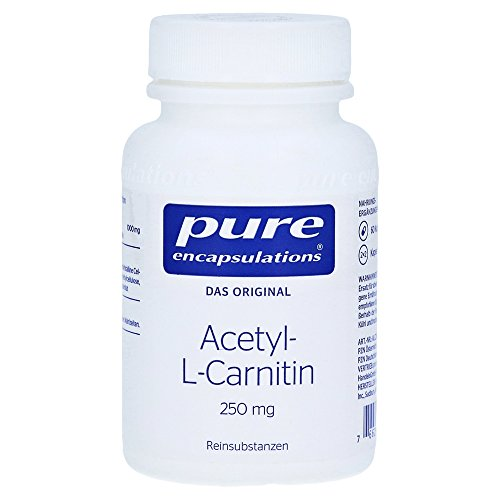 Acetyl-l-Carnitin 250mg 60 Kapseln pure encapsulations