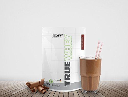 Whey Protein Isolate & Konzentrat Pulver – Eiweißpulver aus Molke – Proteinpulver – Eiweiß-Shake 1 kg SCHOKOLADE