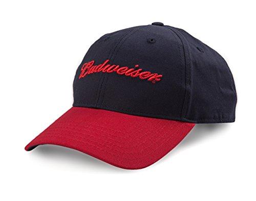 budweiser-embroidered-logo-curved-bill-adjustable-baseball-cap