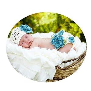 NO BRAND Disfraz de Accesorios de fotografía para recién na Traje de bebé Prop Lindo recién Nacido Niño Niña Traje de… 16