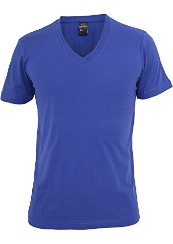 Kids Basic V-Neck Tee Royal