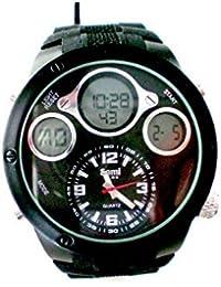 Sami RSM-77752-3 Reloj Dual Digital Analogico Modulo Especial Water Resistant 30m