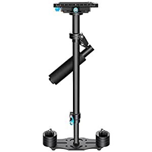 """Neewer 24""""/60cm Handheld Stabilizer with Quick Release Plate 1/4"""" and 3/8"""" Screw for DSLR and Video Cameras up to 6lbs/2.7kg"""