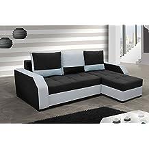 Sofá Aris con función cama sofá función dormir esquina