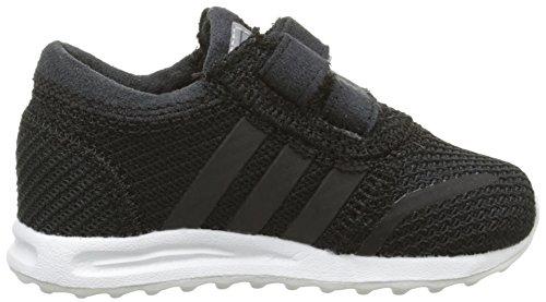 adidas Los Angeles, Chaussures Bébé marche bébé garçon Noir (Cblanc/Cblanc/ Ftwr White)