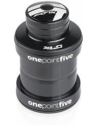 XLC Zubehör Comp A-Head-Steuersatz HS-A10 1.5 Zoll Konus durchmesser 30.0 mm für 1 1/8 Zoll Gabel, schwarz, 2500508800