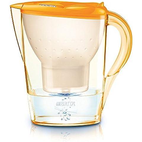 Brita Marella - Filtro de agua (Naranja, 104 x 256 x 258 mm)