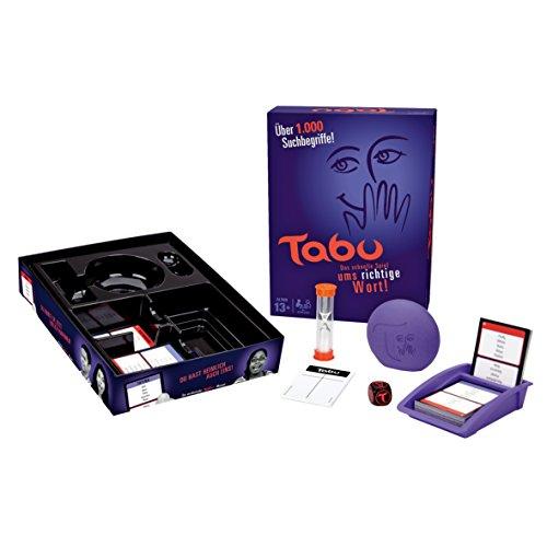 Hasbro Gaming A4626100 - Tabu Partyspiel (Tabu Karten)