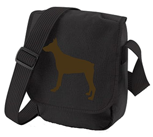Bag Pixie - Borsa a tracolla unisex adulti Dobe on Black Bag