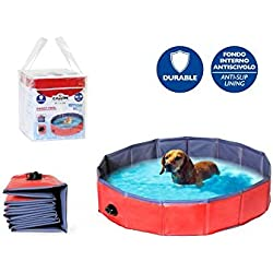 piscina para perro 120xh30 cm de diámetro
