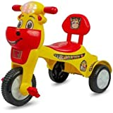 Panda Baby Product HK World Happy Birthday Tricycle with Music with Lights (Red)