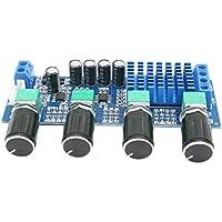 WNJ-TOOL, Tono 1pc TPA3116D2 Potencia de Audio Op Amp 80W * 2 estéreo de Doble Canal Tablero del Amplificador Digital de Altavoces de Sonido Amplificador DC12-24V