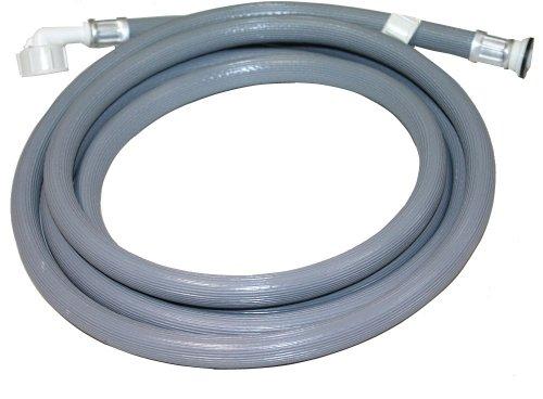 Preisvergleich Produktbild Aerzetix: 3m Schlauch für Waschmaschine Wasserschläuche Waschmaschinenschlauch