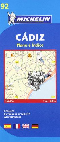 Cadiz City Plan par Michelin