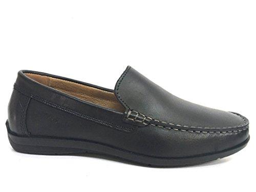 Soft En 12051 Chaussures Fabriqué Homme Noir Enval Italie Mocassin 0qwEwOU