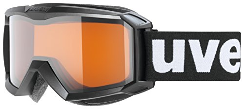 Uvex Skibrille Flizz lg black mat One size