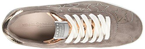Kennel Und Schmenger Schuhmanufaktur Fresh, Baskets Basses femme Multicolore - Mehrfarbig (puder/silk. S.weiss 582)
