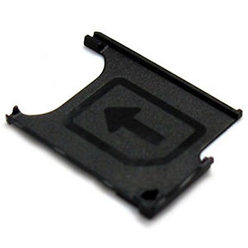 NETBOON® Sony Xperia Z1 Sim Card Holder Plastic Tray Original Genuine Replacement - Black  available at amazon for Rs.340