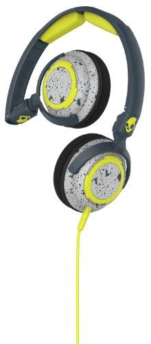 Lowrider Esterne con Microfono, Grigio Scuro/Grigio Chiaro/Lime Intenso