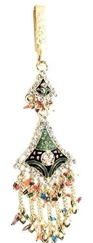 Indian Ethnic Designer Fashion High Quality Stone, Gold Plated Belly Kamar Guccha For Women And Girl
