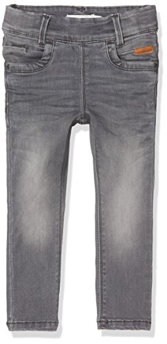 NAME IT Mädchen Jeans NITTONJA Skinny Legging DNM NMT NOOS, Grau (Light Grey Denim), 104