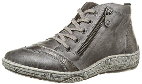D3871 42, Sneakers Basses Femme, Gris (Gris Combiné), 43 EU (9 UK)Remonte