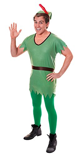 stume Adult Fancy Dress (Peter Pan Halloween)