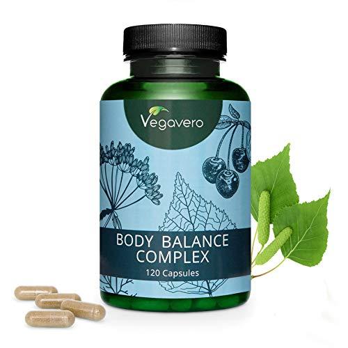 Drenante naturale vegavero® | depurativo – ritenzione idrica – diuretico | solo a base di estratti vegetali | senza additivi | 120 capsule | vegan