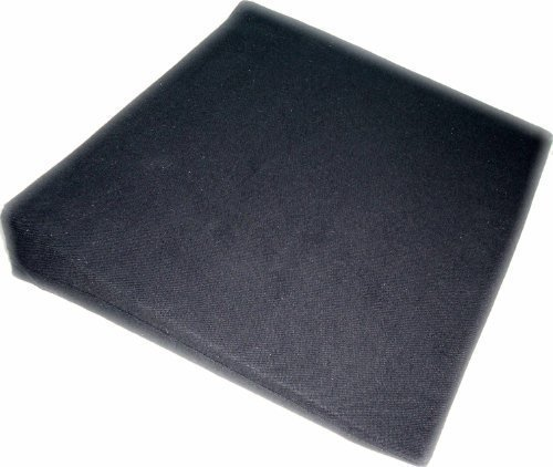 Keilkissen Sitzkeilkissen Sitzkissen Sitzkeil VB 120 mit Bezug Kunstleder 100% Polyester, 40x38 cm Farbe marine 91