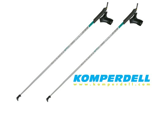 1 paio di Komperdell Trainer Pole - bastoni Nordic Walking - 125 cm