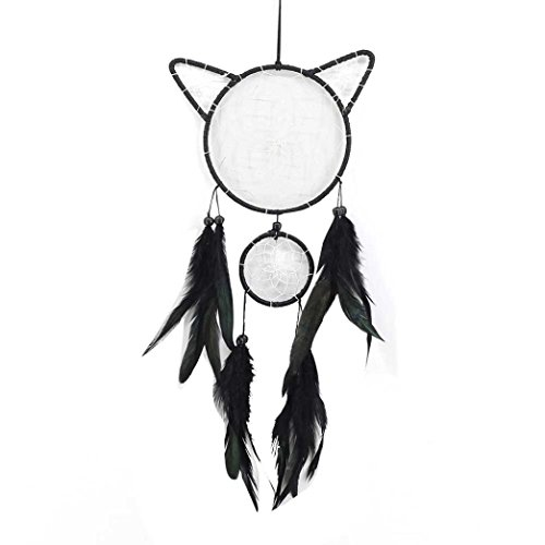 Hunpta Faite à la Main Dream Catcher Perle Décoration à Suspendre Ornement Cadeau a
