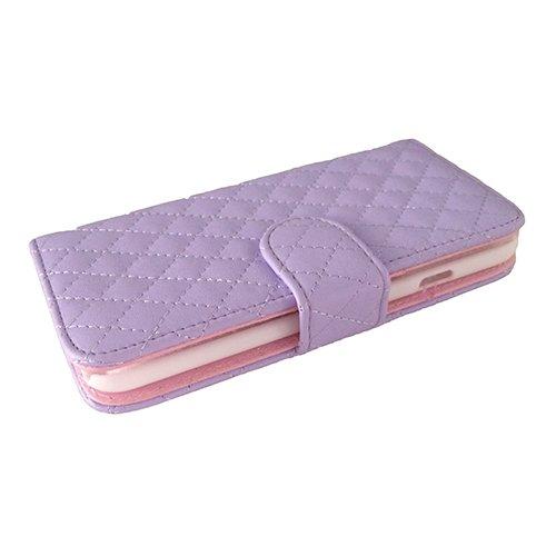 F8Q flip PU cuir magnétique Card Case Holder Wallet Etui de protection antichoc pour iPhone 6 rouge