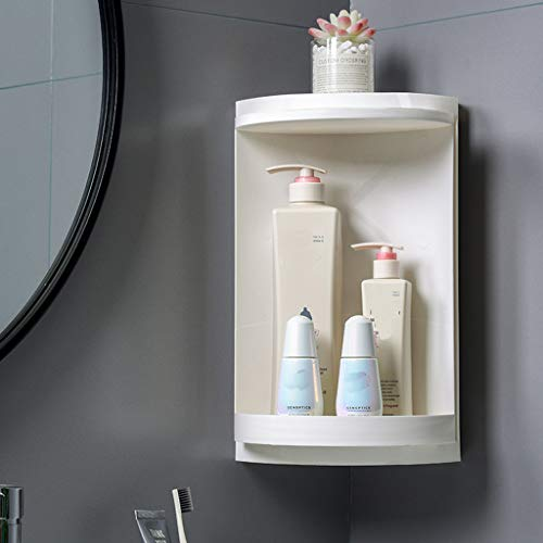 htfrgeds, das Speicherkabinett, Multifunktionsbadezimmer-Eckschließfach, kosmetisches drehendes Speicherkabinett dreht -