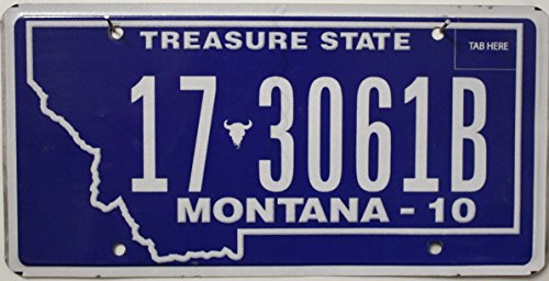US Nummernschild MONTANA Kennzeichen # USA License Plate # Autoschild
