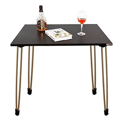 Need Schreibtische 80x60cm Esstische Kaffeetische Gartentisch Mehrzwecktisch Computertisch PC Tisch Schwarz AC4BT (Ständer Klapptische Mit)