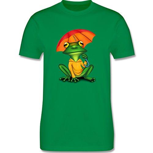 Sonstige Tiere - Wetterfrosch - Herren Premium T-Shirt Grün