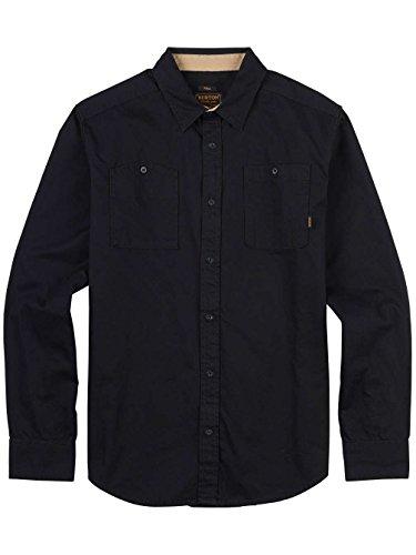 Burton Herren Hemd MB Glade Long Sleeve WVN True Black