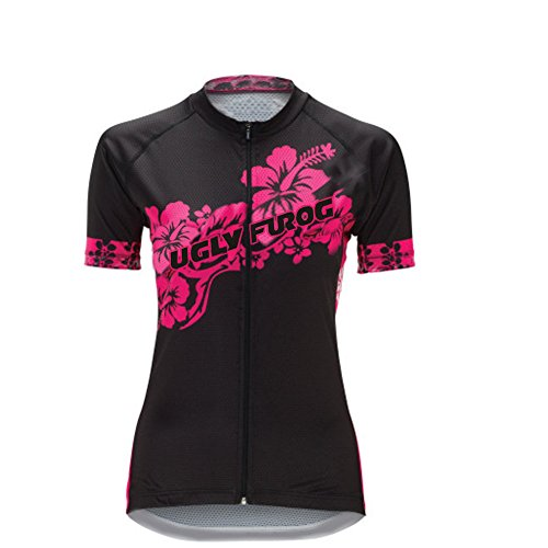Uglyfrog LQBZ06 New Damen schließen Hülsen Zyklus Jersey Kurzarm Fahrradtrikot Fahrrad Hemd Radfahren Frauen Trikot