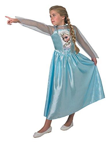 Rubie's Klassische ELSA - tiefgekŸhlt - Disney - Kinder KostŸm - Alter - (Elsa Kostüm Alter 11 12)
