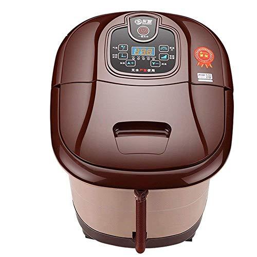Hhgold pediluvio elettrico pediluvio automatico per la casa home riscaldamento elettrico massaggio plantare barrel footbath intelligente per raschiare i piedi (colore : -, dimensione : -)